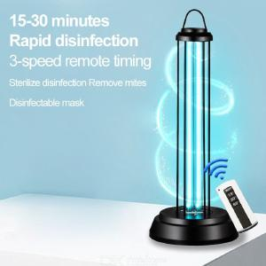 38W Desktop UV Light Lamp Disinfection Sterilization USB Lamp Bar Strip With Remote Control