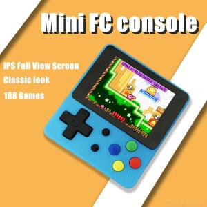 Mini 2.4-Inch Handheld TV Game Console, 8 Bit Retro Video Game Console Built-In Games AV Output Gaming Player Best Gift