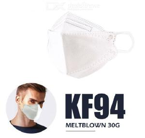 Evergreen KF94 Face Mask 30PCS/Box PM2.5 Fine Dust Mask Respirator