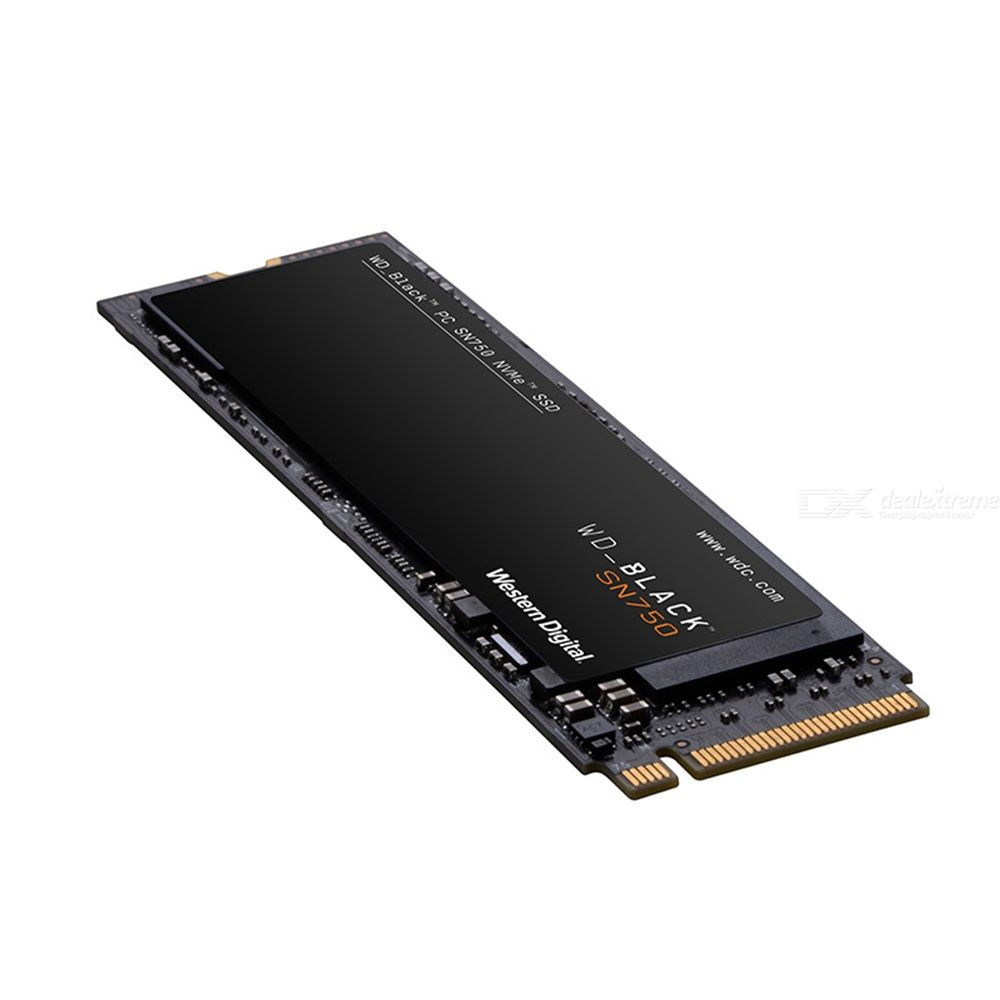Western digital sn750 ssd internal solid state drives 250gb/500gb/1tb quad lane pcie m.2 interface (nvme protocol)