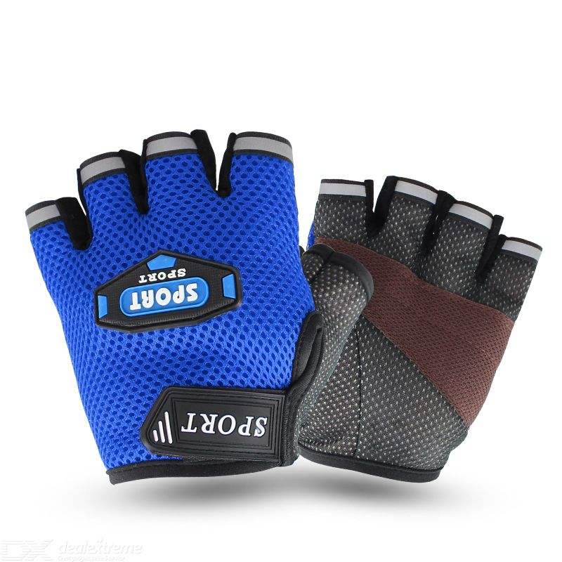 Outdoor cycling gloves half finger sport gloves fitness yoga gloves ventilation climbing gloves
