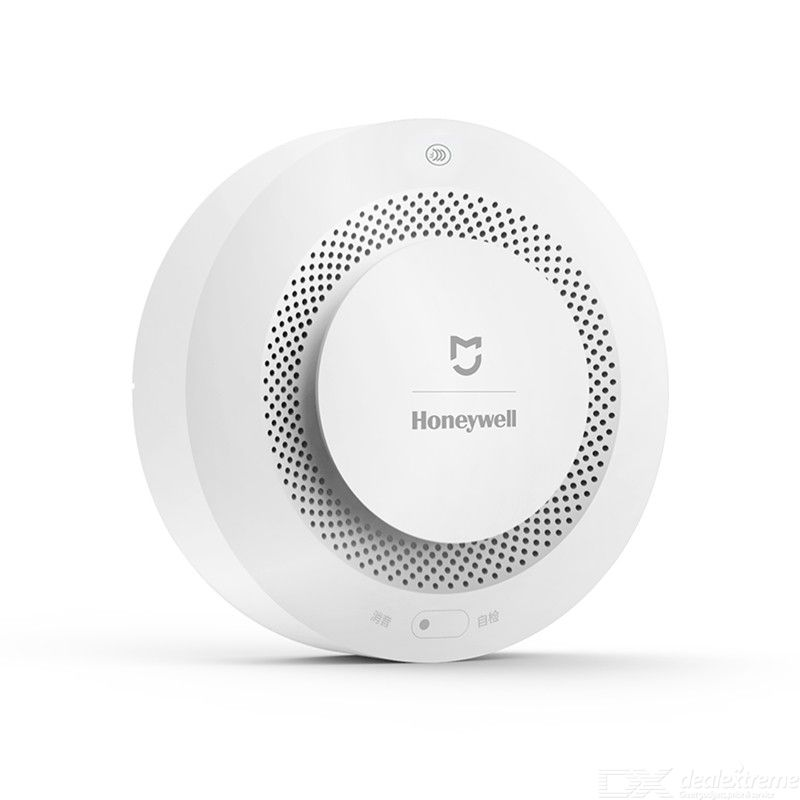 Xiaomi smoke detector honeywell sensor mijia fire alarm audible visual alarm work with gateway 2 smart home remote app control