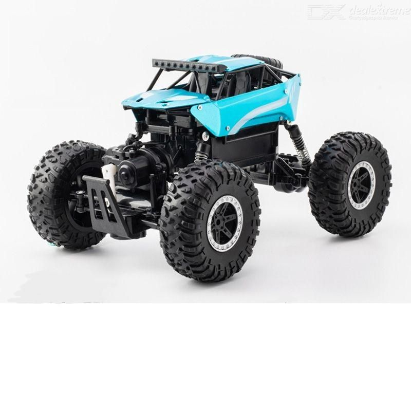 Dm-3004 1/16 rc car 2.4g remote control suspension shock absorbers with rubber vacuum tires for kids