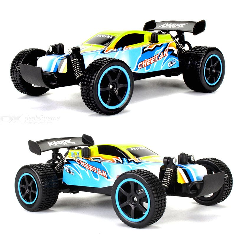 Kyamrc ky-1880 rc car 2.4g remote control rubber tires anti-collision anti-drop 4-channel 2-wheel drive