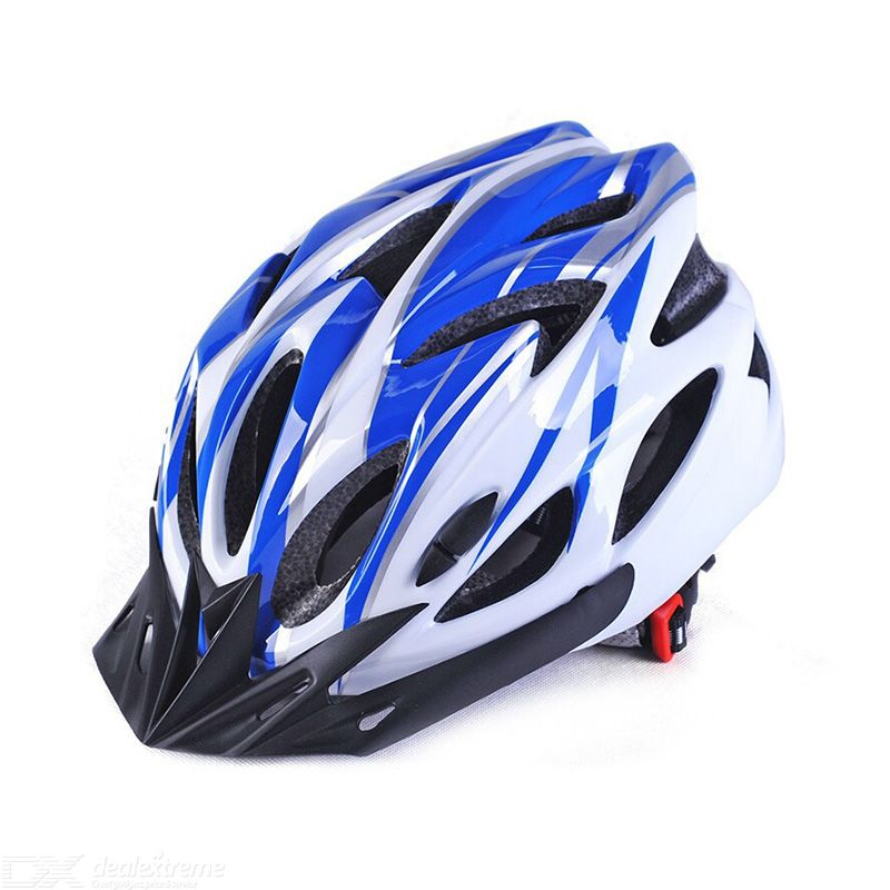 V-102 bike helmet drop resistance collision resistance 18-hole design tail adjustment button detachable lining protective pad