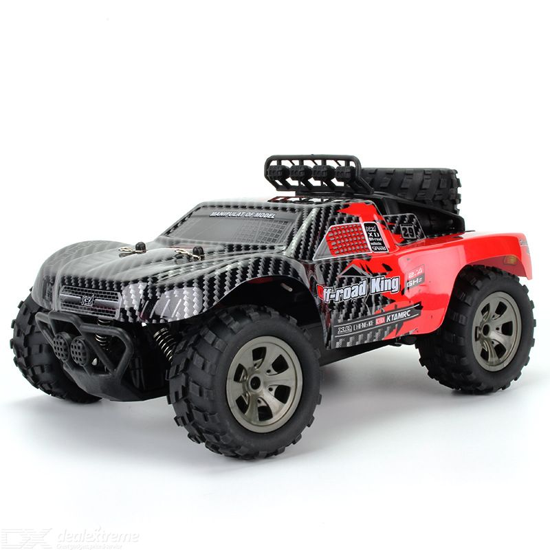 Kyamrc ky-1885b rc off-road car 1/18 simulation model 2.4g remote control gun-type remote control with rubber hollow tires