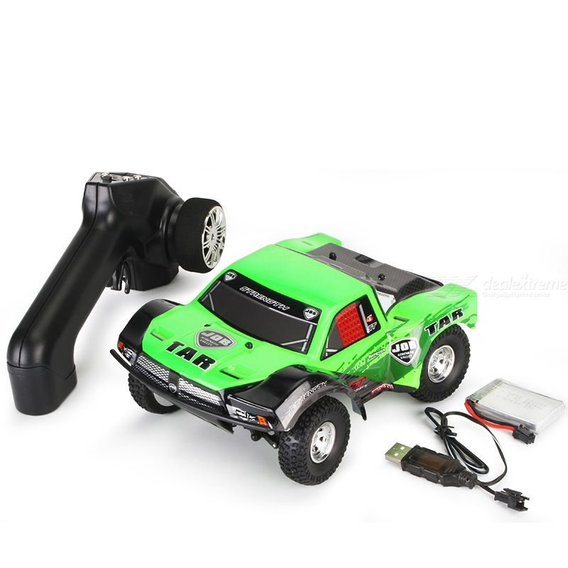 Kyamrc s620 rc car 1/22 simulation model four-drive design gun remote control with tpr rubber tires