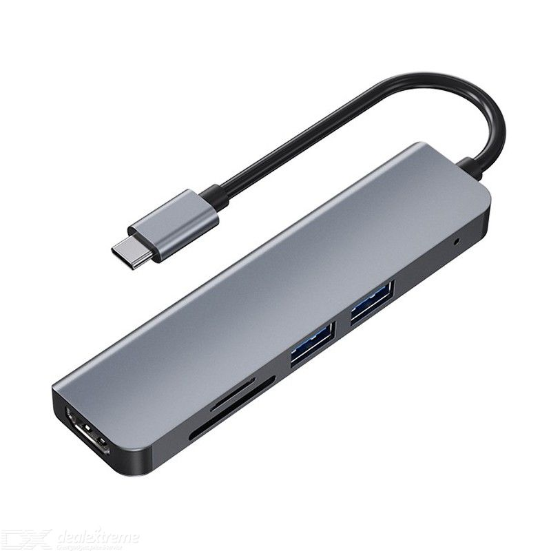 Byl-2010n usb-c to hdmiusb3.0+tf+sd 5 in 1