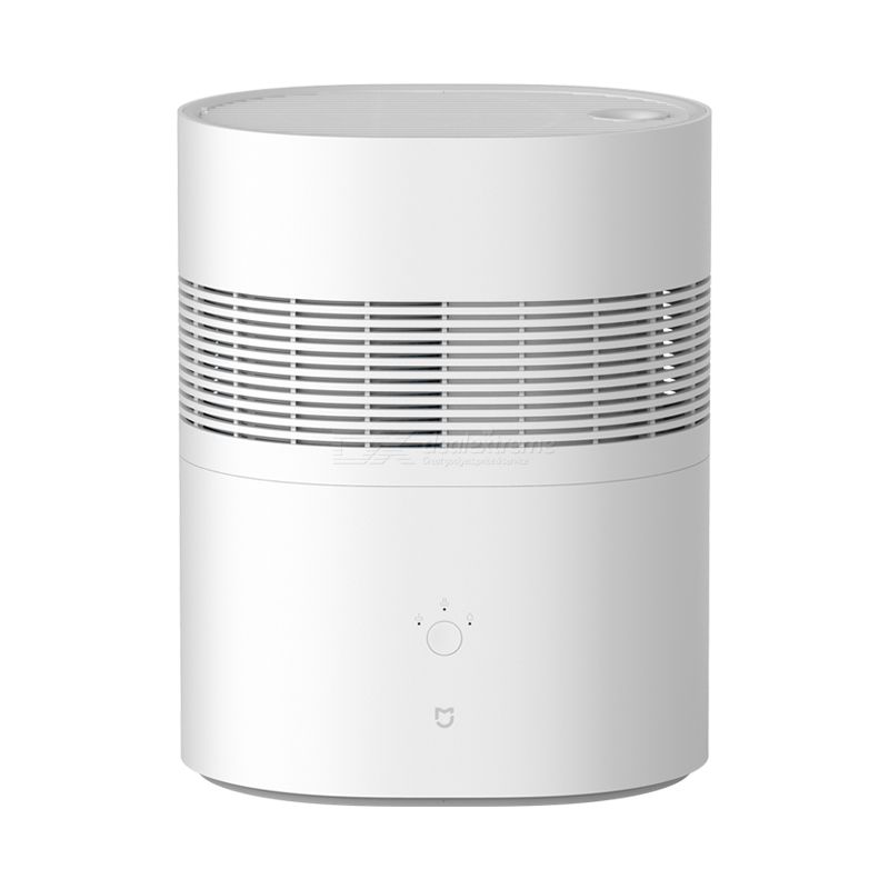 Xiaomi mijia evaporative humidifier mute 2.2l water tank 5-blade fan double circulation water spray system