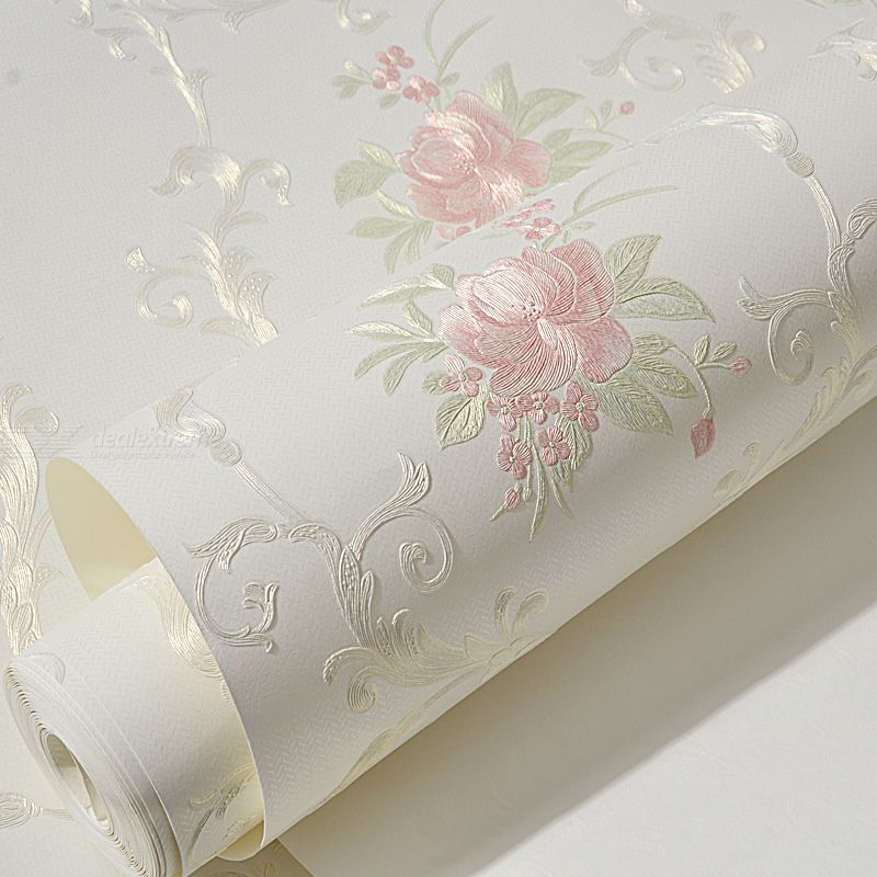 Self-adhesive non-woven wallpaper background wallpaper self-adhesive wallpaper