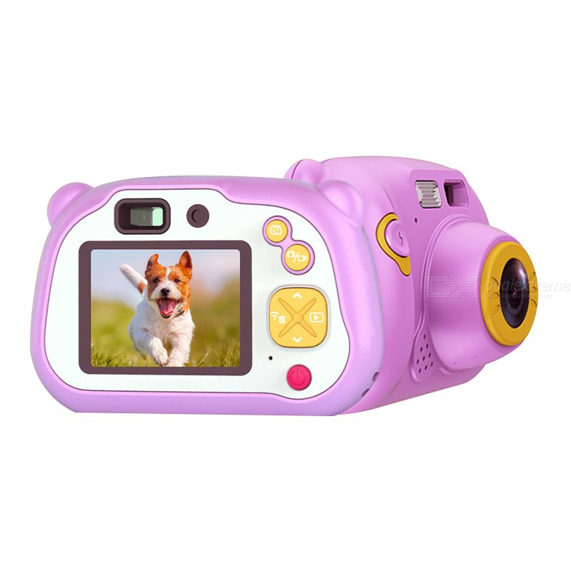 Cute children camera wifi sharing digital mini camera  2.0 inches lcd screen display kids portable cameras
