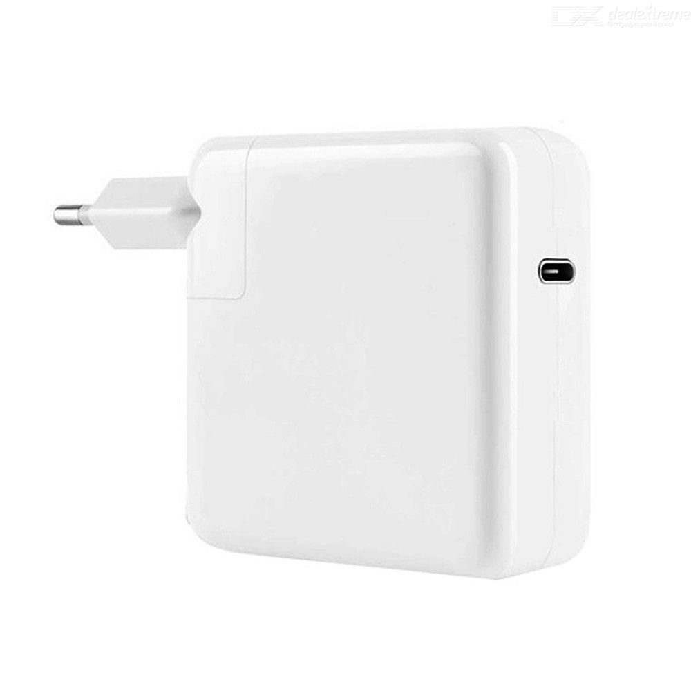 Usb-c 87w pd notebook power adapter eu plug for apple macbook pro 15 inch a1706 a1707 a1708 a1719