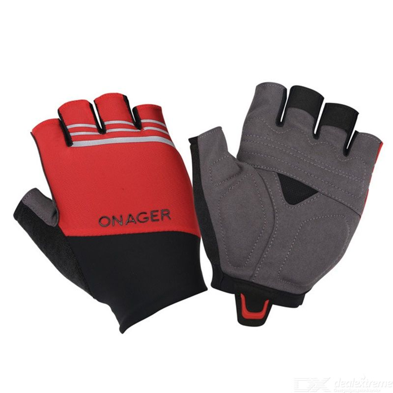 Onager non-slip half finger bicycle gloves mountain bike sport gloves