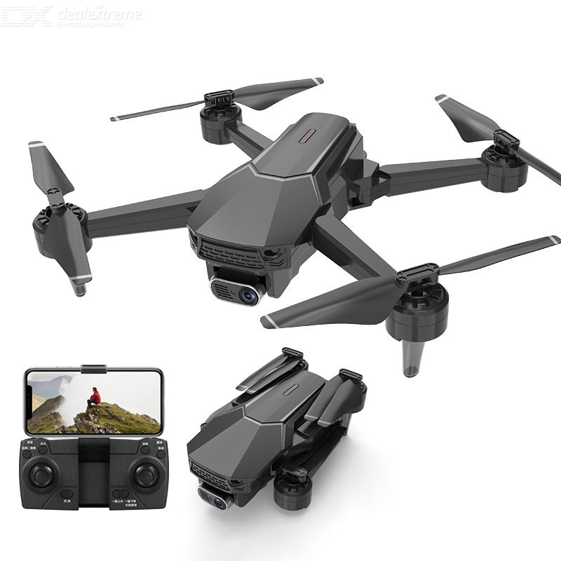 S1 high definition dual cameras aerial photography drone foldable remote control anti-shake uav