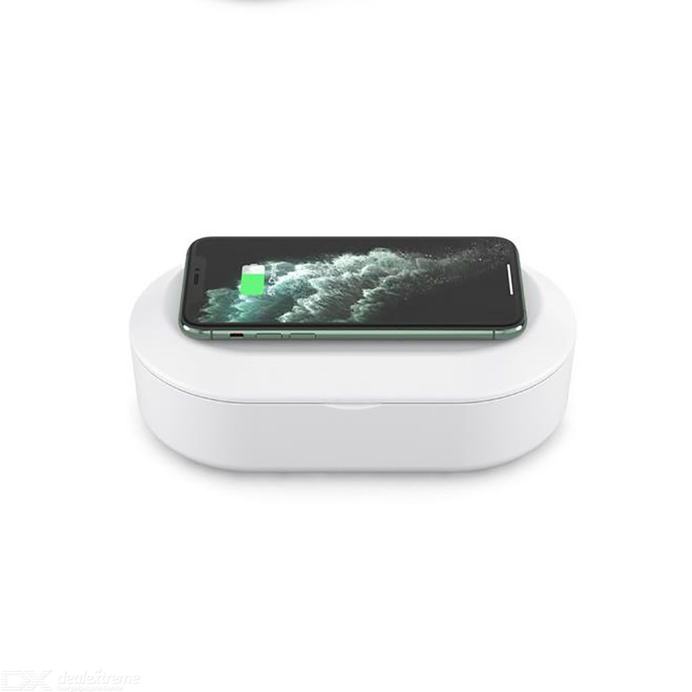15w mobile phone wireless charger uv disinfection box sterilization box quick charge