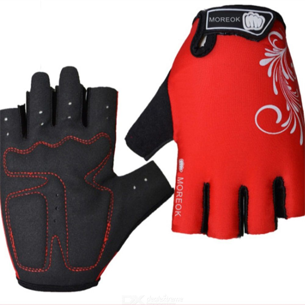 Moreok mt33-1 bike gloves half-finger gloves wear-resistant biking gloves