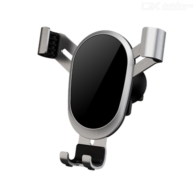Car phone holder automatic gravity sensor non-slip 360-degree rotation built-in long steel core plug