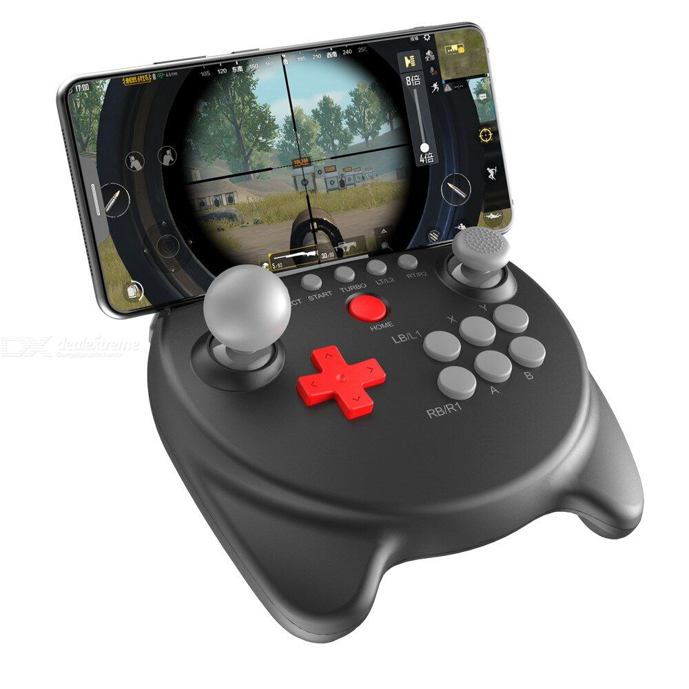 Pg 9191 wireless controller with bluetooth double rocker gaming handle support android ios