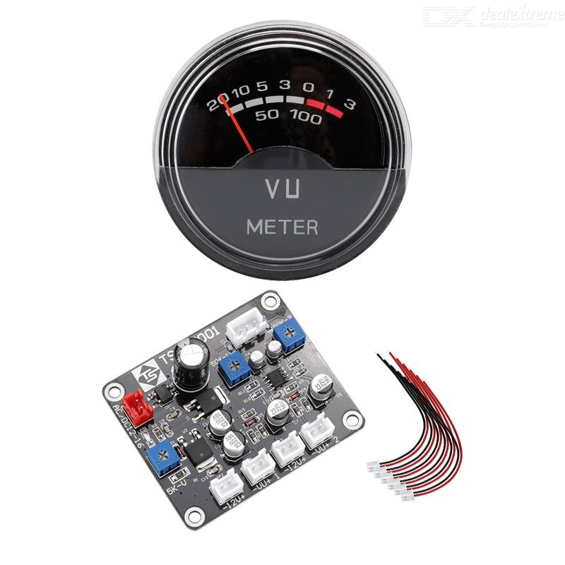 P-40sa high precision vu meter power amplifier db meter pre-amplifier tube amplifier level meter volume meter with driver board