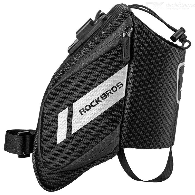 Rockbros c32 bike saddle bag bicycle tail bag folding saddle bag back seat bag