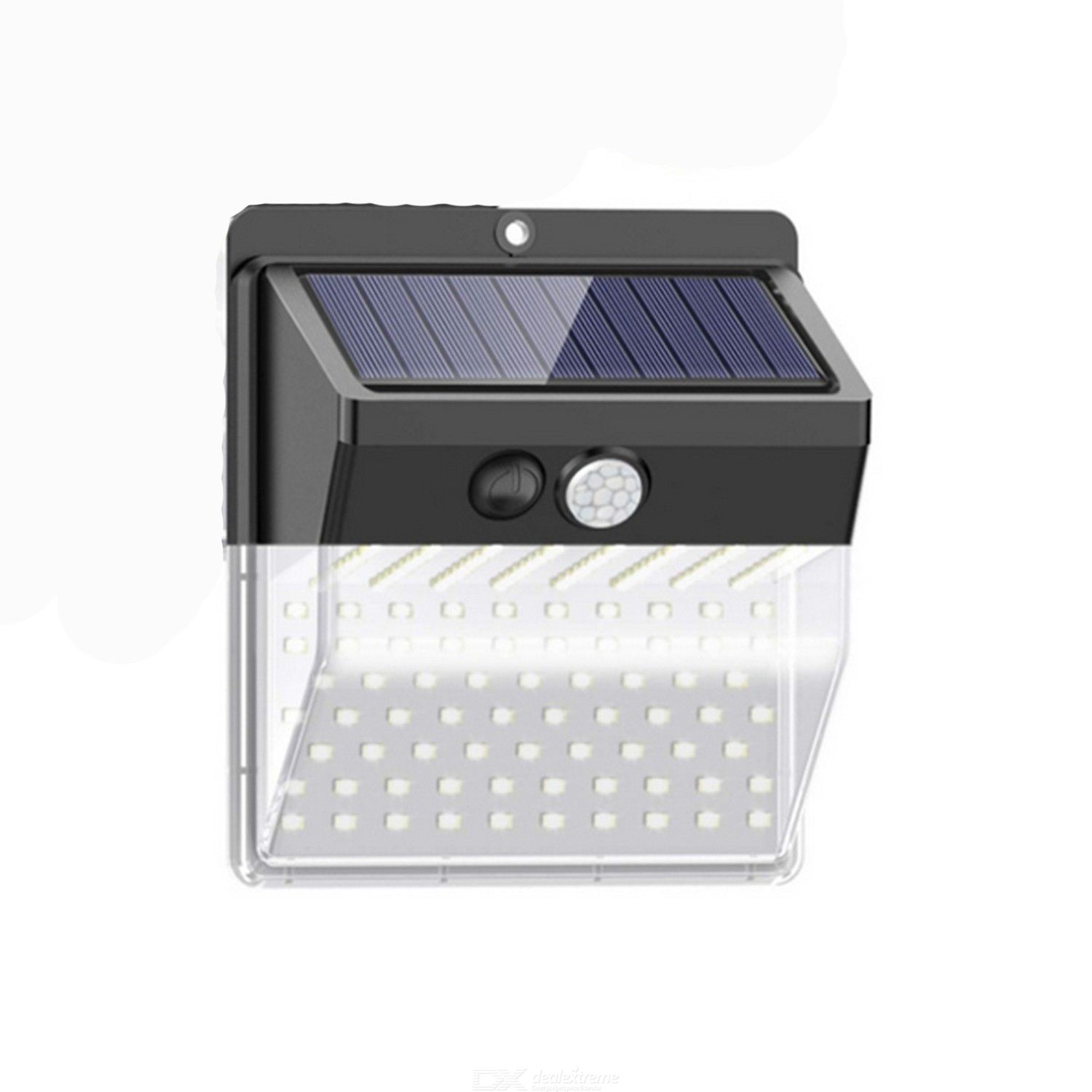 136led solar street lamp led solar body induction wall lamp solar wall lamp infrared