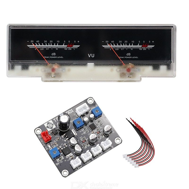 P-78wtc high-precision vu meter power amplifier db strap backlit pre-amplifier tube amplifier level meter with driver board
