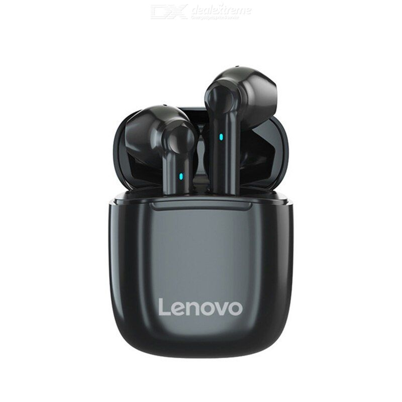 Lenovo xt89 tws earphone wireless bluetooth headphones ai control gaming headset stereo bass with mic noise reduction