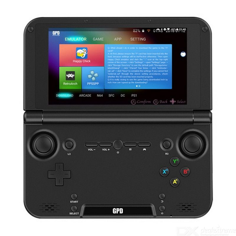 Gpd xd plus handheld game player professional android game console 4gb+32gb eu plug