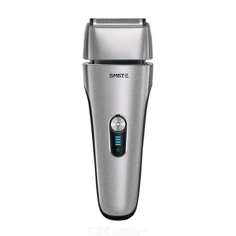 Smate 4 blades beard shaver men electric beard razor whole body washing rechargeable shaver