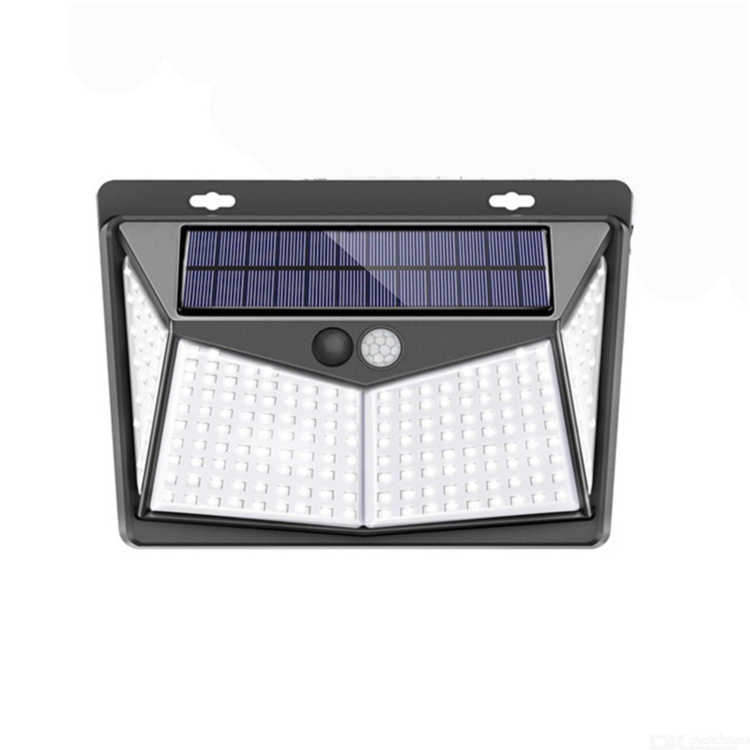 Solar energy lamp outdoor body induction lamp courtyard wall lamp 208led integrated street lamp