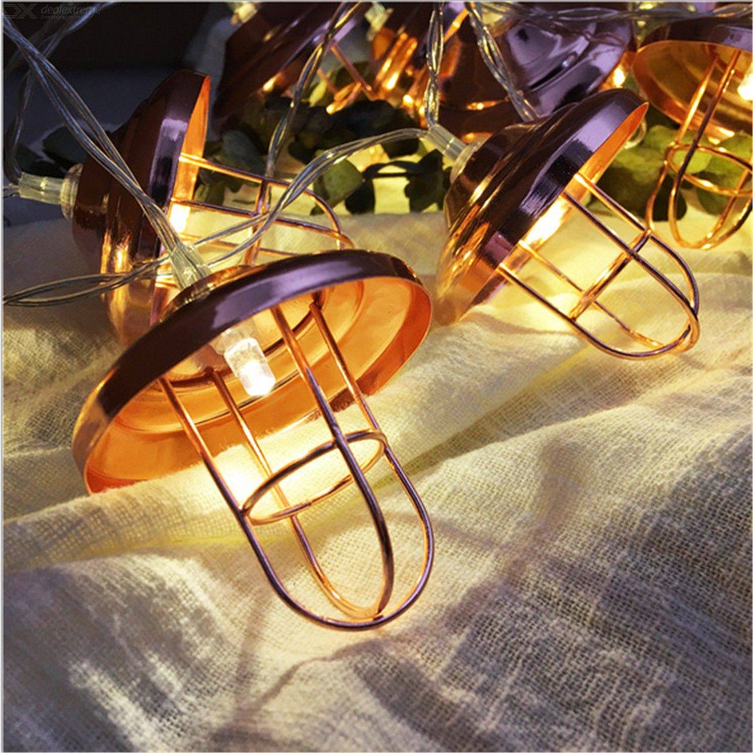 New lampshade led string creative home nordic festival bedroom outdoor lamp 1m 10 lamp