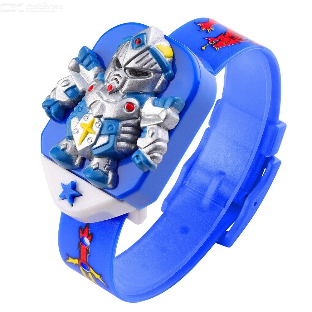 Skmei 1751 digital watch separate dial pvc strap durable for kids