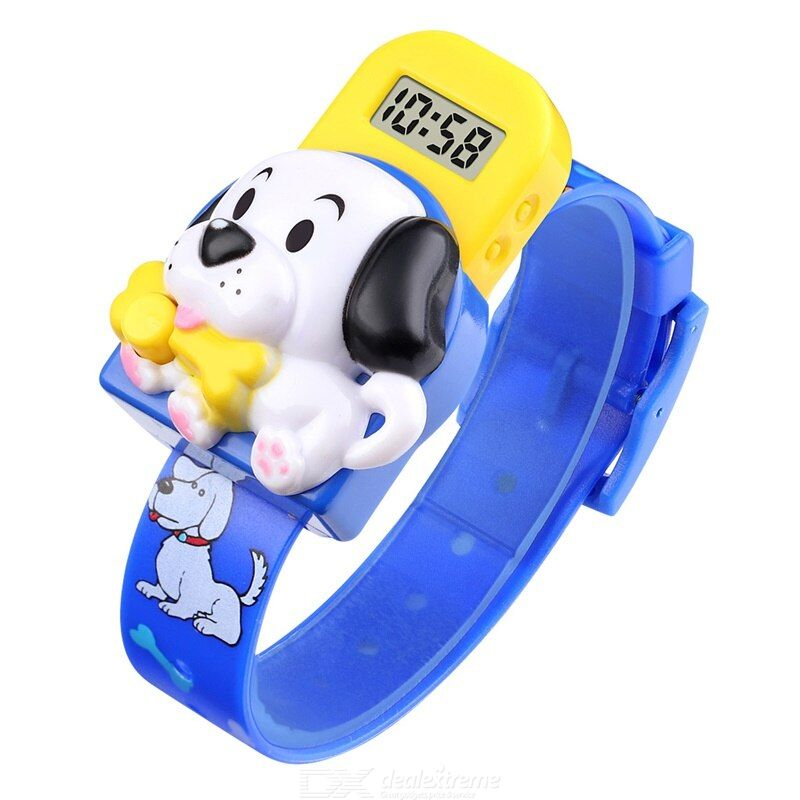 Skmei 1754 digital watch separate dial pvc strap durable for kids
