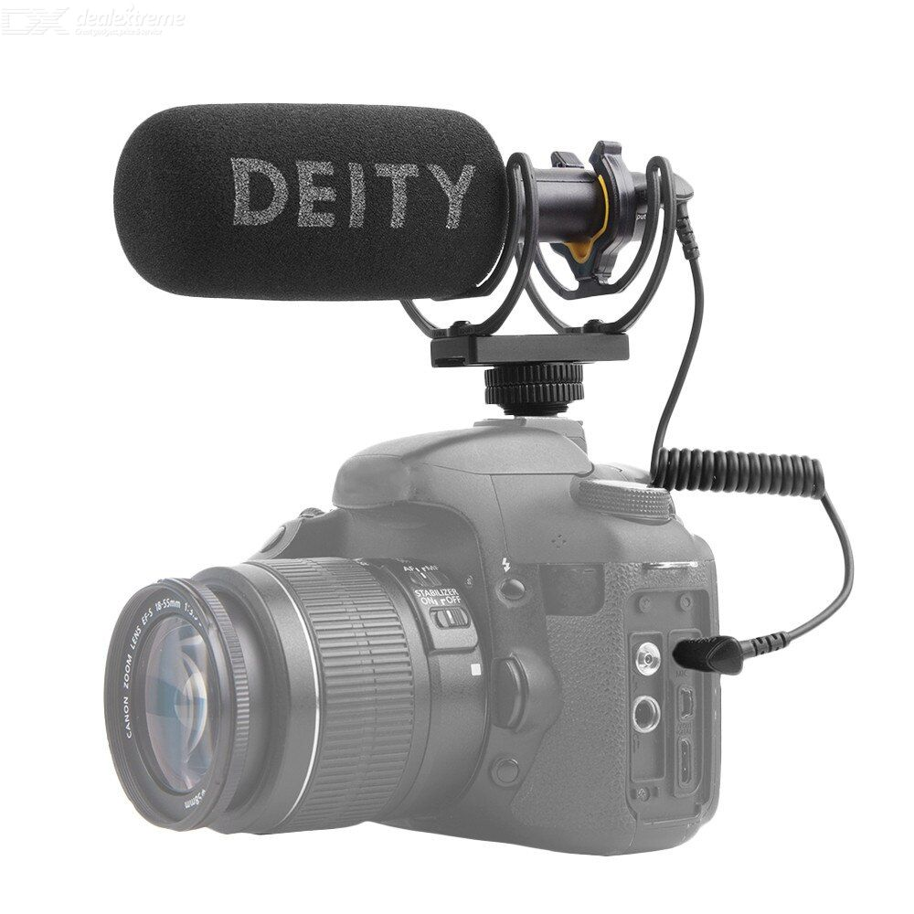 Aputure deity v-mic d3 super-cardioid shotgun microphone mobile phone live broadcast recording professional interview microphone