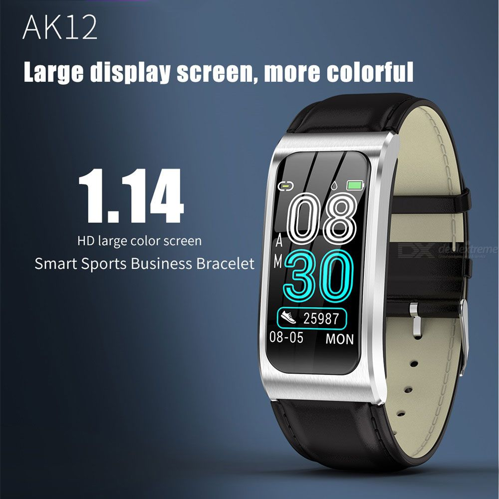Ak12 1.14 -inch hd large color screen smart bracelet fashion sport casual watch