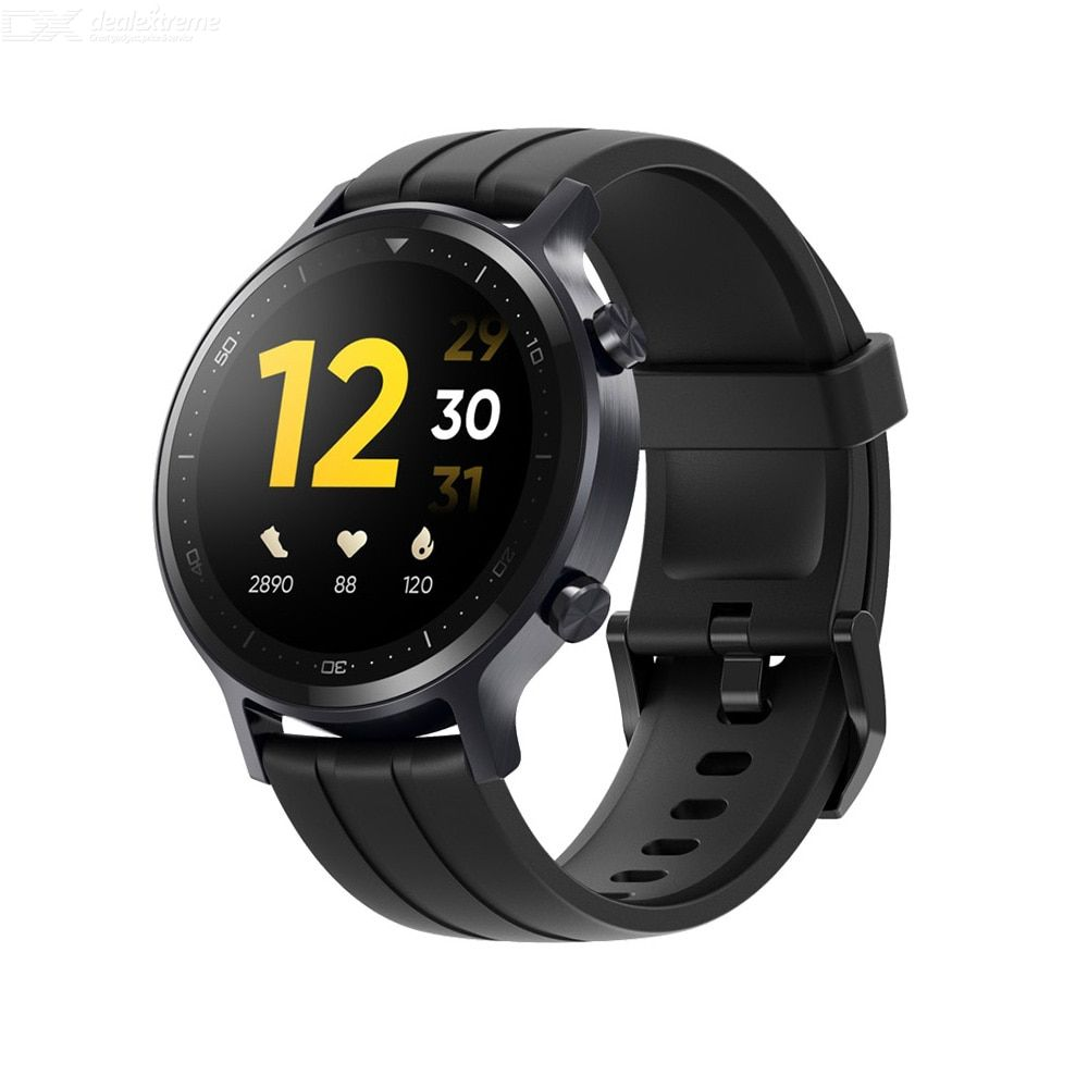 Realme watch s smart watch fashion smart control round dial waterproof sport watch