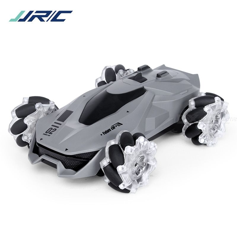 Jjrc 4wd musical stunt car toy gesture sensing remote control mist spraying off-road car toy for children