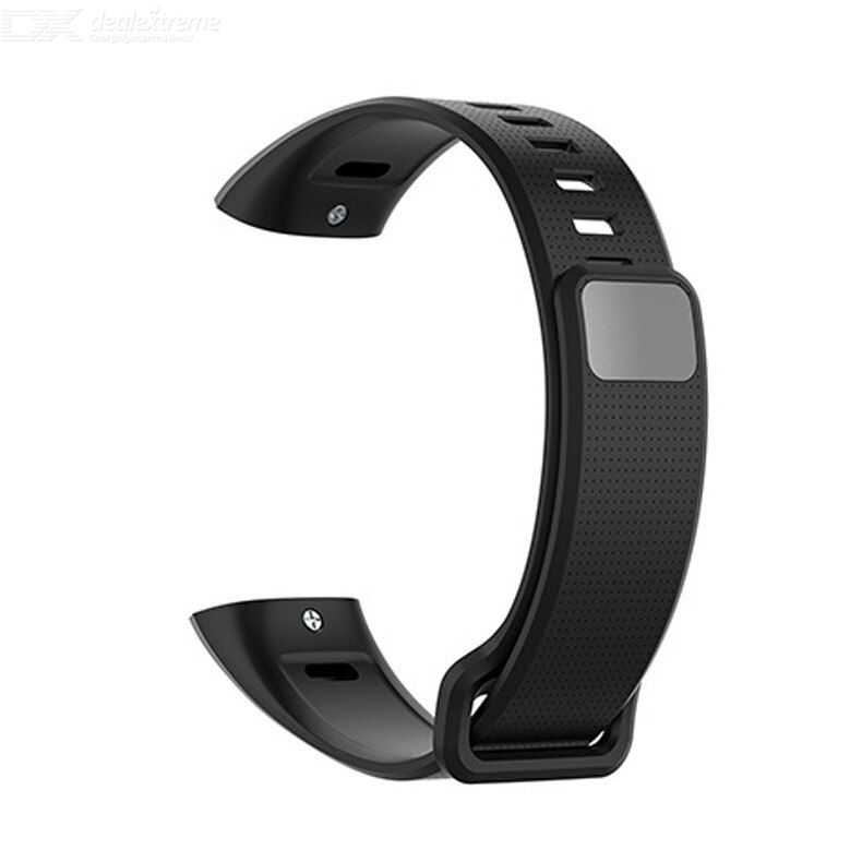 Tpe silicone smartwatch wrist strap for huawei band 2 pro/ ers-b19 watch band replacement