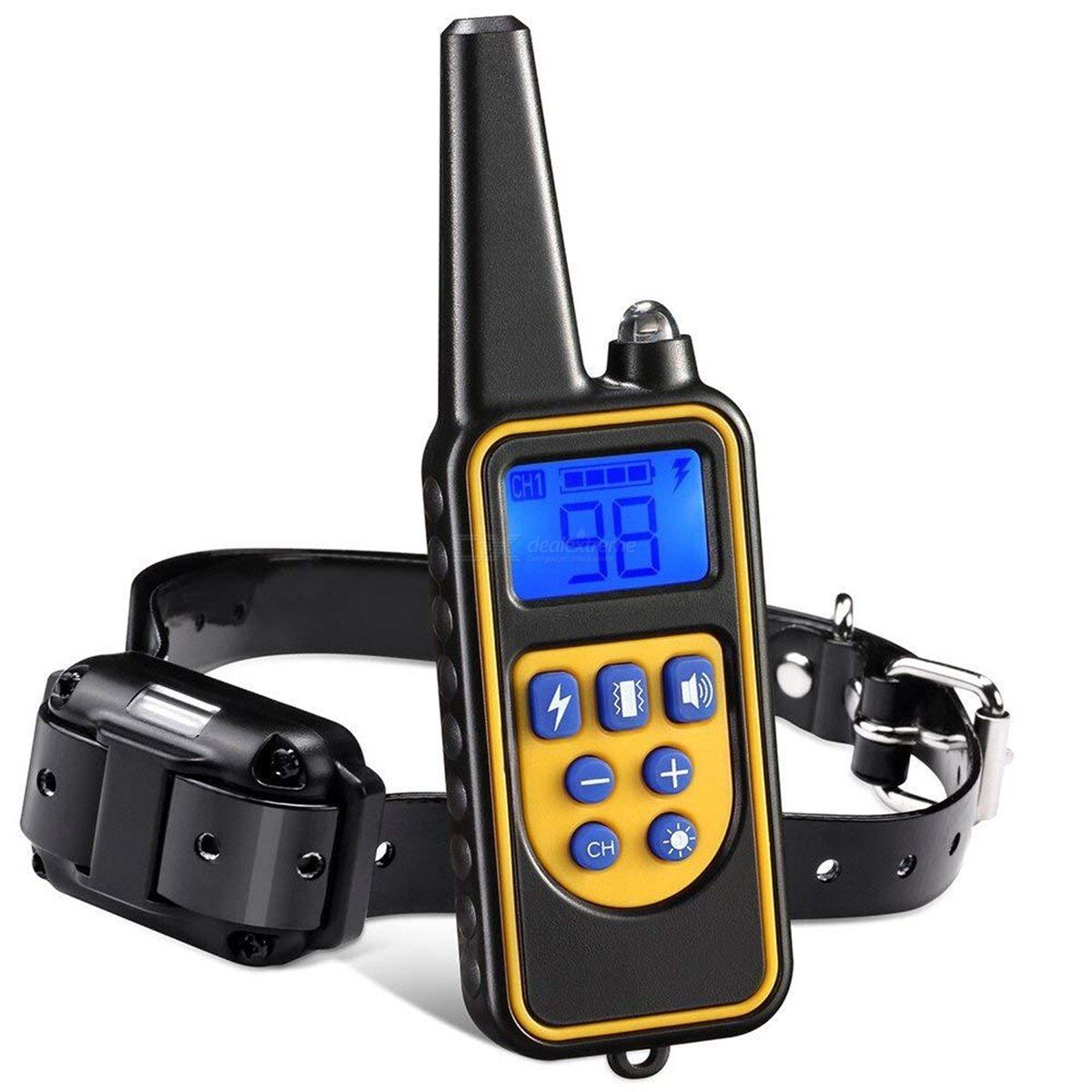 Dog training collar automatic electric shock dog collars pet bark control remote control collar