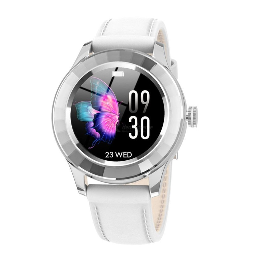 S09 smart watch waterproof 1.06 inch full circle full touch color screen bluetooth 4.0