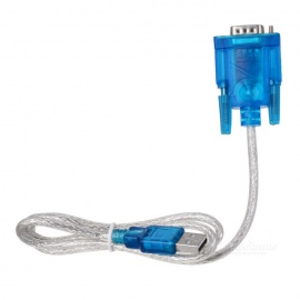 HL USB to RS232 Convertor Cable - Light Blue