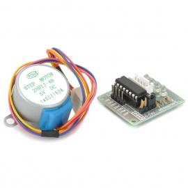 Stepper Motor with ULN2003 Driver - Silver (DC 5V)