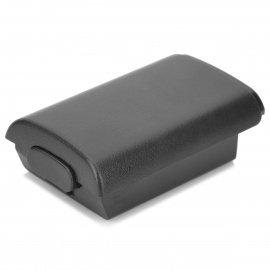 Battery Cover Case for Xbox 360 Wireless Controller - Black