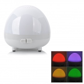 USB 4W Aroma Diffuser 8-LED Colorful Night Light - White