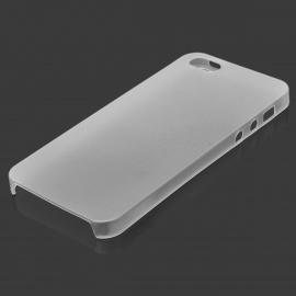 Protective Plastic Case for IPHONE 5 - Transparent