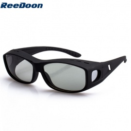 Reedoon 9755 Circularly Polarized 3D Non-Flash Glasses for TCL / LG 3D TV - Black