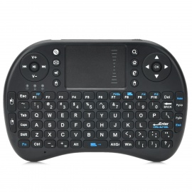 iPazzport KP-810-12 Wireless 2.4GHz 92-Key Keyboard for Google TV Player - Black