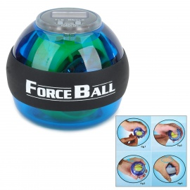 Forceball SPT-ALC Exercise Wrist Force Ball w/ Blue LED / Counter - Blue + Black