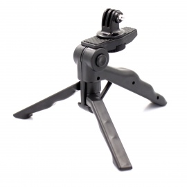 PANNOVO 2 in1 Portable Hand Grip Tripod Stand Holder w/ Mount for Gopro Hero 4/2/3/3+/SJ4000