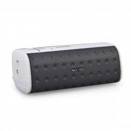 MOCREO MOSOUND Bar Waterproof Portable Wireless Bluetooth Speaker w/ TF, Microphone - Grey + White